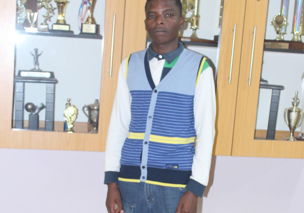 Richard Zitha (Matric 2016) obtained 7 distinctions with position 1st in the province in Geography with 99% for 2016